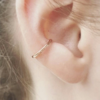 Rose Gold Filled Ear Cuff