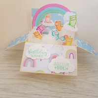 Handmade box card