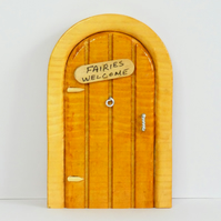 Miniature Freestanding Wooden Fairy Door