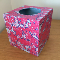 Handpainted Tissue Holder