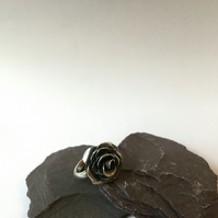 Regal Rose Sterling Silver Ring