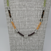 Pretty multi-colour necklace for any occasion