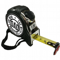 Dad The Man, The Myth, The Legend Personalised Tape Measure 5M, Fathers Day Gift