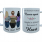 Plus Size Best Friends Forever Mug, Gift for Best Friend, Best Friend Ever
