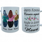 Plus Size Sisters Forever Mug, Gift for Sister, Sister Cup