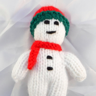 Christmas Mini Snowman - Handmade Christmas Decorations