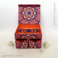 Sunshine Mandala Handmade Organiser - Fabric Covered