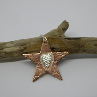 Copper Star Charm