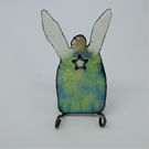 Angel Brooch - Enamel on Copper