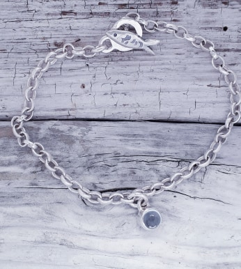 Silver Darlings Bracelet