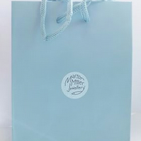 Sea Green Gift bag