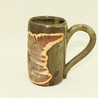 Fern Fossil Mug (Small) Frog Green