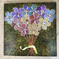 Greetings Card - Bouquet