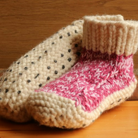 Purls of Wisdom Cosy Toes Slipper Boots