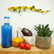 Fused Glass Catshark Wall Hanging Decoration
