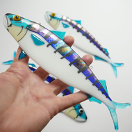 Fused Glass Mackerel Wall Hanging Decoration