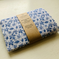 Set of 5 reusable bees wax wraps