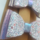 Pair of Purple Layered Bows