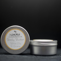 Body Butter - White Lily & Ginseng Fragrance 70g