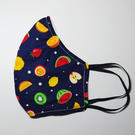 Face Mask - Fruit Fabric Face Mask - Reusable, Adult Face Mask