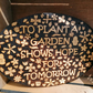 'To Plant a Garden Shows Hope for Tomorrow' Garden Sign