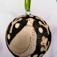 Pheasant Christmas Bauble