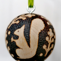 Squirrel Christmas Bauble