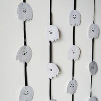 Halloween Paper Spooky Curtain, Halloween Decoration, Creepy, Funny Curtain