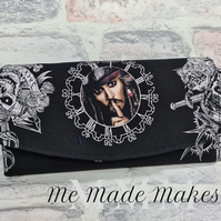 Ladies Purse, Pirates of the Caribbean Purse, Women's Wallet, Ladies Gift