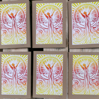 Joy & Hope - Sunrise Swim Card for new starts and new beginnings