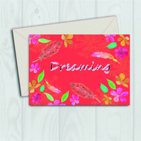Dreaming card