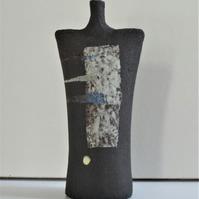 Greta.  Mini figurative ceramic with abstract motif