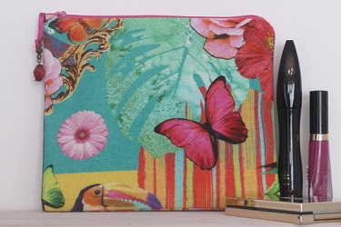 Makeup Bag - Tropical