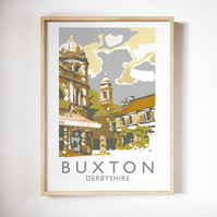 Buxton, Derbyshire Giclee Travel Print