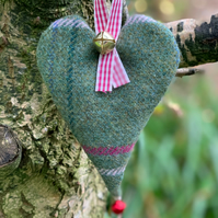 Scented Christmas heart decoration