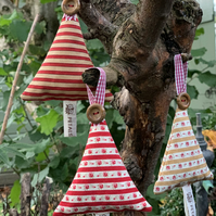 Scented Hanging Tree Decorations