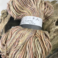 Stunning Silk Wool Yarn 100g Hank Yellow Orange Tones