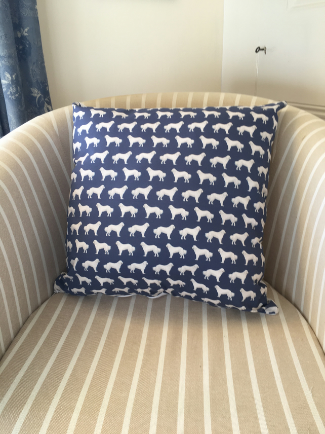 Great Pyrenees dog cushion