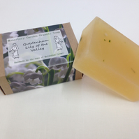 Organic Lily of the Valley Soap