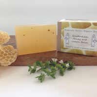 Organic Honey and Lemon Balm Soap