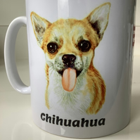 Chihuahua. Design  Mug ,coffee mug ,dog design. Free P&P