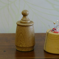 Elm Pin Pot