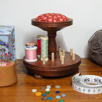 Cotton Reel Holder and Pin Cushion