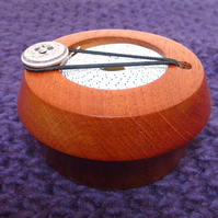 Wooden Tape Measure Keep