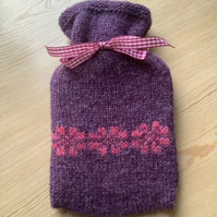 Knitted Mini Hot Water Cover