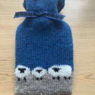 Mini Sheep Hot Water Bottle Cover