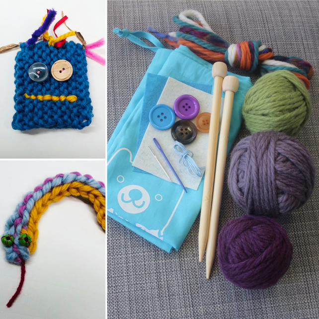 Learn To Knit Kit (Children)