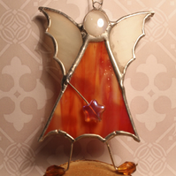 Fire Fairy Stained Glass Hanging Decoration Glass Art Ornament
