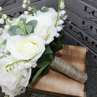 Artificial bride bouquet, wedding flower package