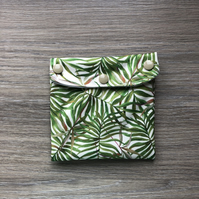 Reusable Pouch Set Tropical Safari